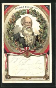 Präge-Lithographie Friedrich Ludwig Jahn