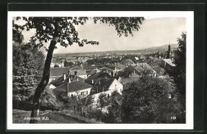 AK Amstetten, Blick über die Dächer der Ortschaft
