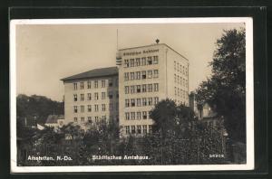 AK Amstetten, Städtisches Amtshaus
