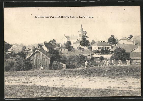 AK Valdahon, Camp de Valdahon, Le Village 0