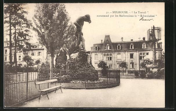 AK Mulhouse, Le Travail, surnommé par les Mulhousiens le Schweisdissi 0