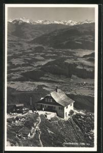 AK Gruttenhütte von oben gesehen