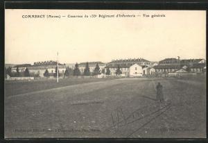 AK Commercy, Caserne du 155e Regiment d`Infanterie, Vue generale