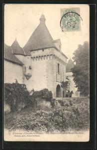 AK Auzances, Le Pont-Levis de Chateau-Bodeau