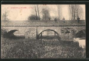 AK St-Martin-sur-Ouanne, Le Pont