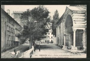 AK Embrun, Porche de la Cathédrale