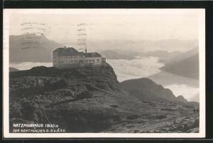AK Watzmannhaus, Berghütte und Umgebung