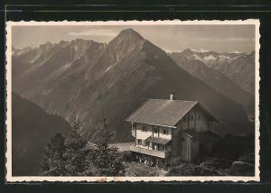AK Gschösswandhütte, Berghütte und Umgebung