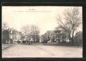 AK Lavaur, avenue Victor Hugo et tribunal civil