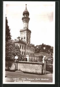 AK Orta, Villa Fracassi Ratti Mentone di Torre Rossano