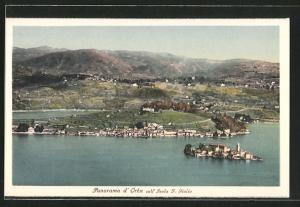 AK Isola S. Giulio, Panorama d`Orta