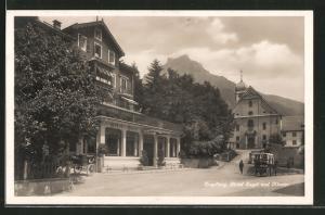 AK Engelberg, Hotel Engel und Kloster