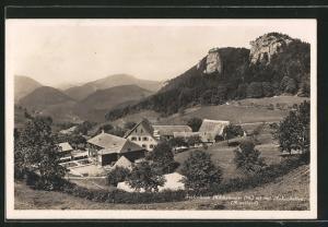 AK Kilchzimmer, Blick auf Ferienheim und Ankenballen