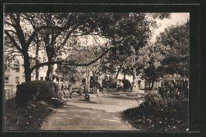AK Besancon, le square Saint-Amour