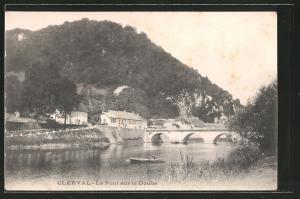 AK Clerval, le pont sur le Doubs