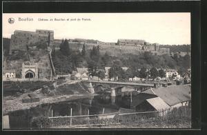 AK Bouillon, Château de Bouillon et pont de France