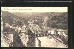 AK Bouillon, Panorama pris de de l`ancienne route de Sedan