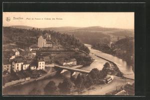 AK Bouillon, Pont de France et château des Moines