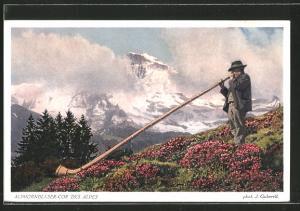 AK Alphornblaser - Cor des Alpes
