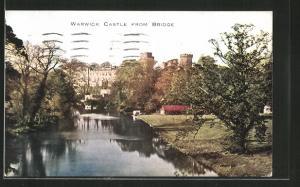 AK Warwick, Castle from the Bridge