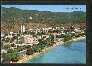 AK Palma Nova / Mallorca, Hotels am Strand
