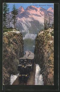 AK Brünigbahn, Passhöhe