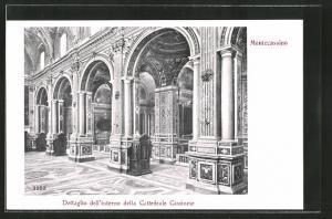 AK Montecassino, Dettaglio dell`interno della Cattedrale Cassinese