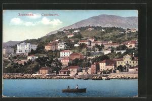 AK Castelnuovo / Herceg Novi, Panorama generale, Ruderboot
