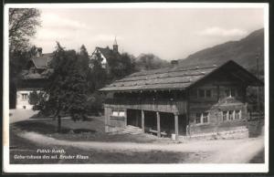 AK Flühli-Ranft, Geburtshaus des sel. Bruder Klaus