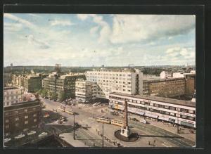 AK Kobenhavn, Vesterbrogade, Strassenbahn