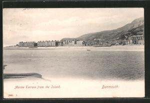 AK Barmouth, Marine Terrace from the Island