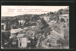 AK Suchumi / Soukhoum, Les Villas sur le Mont Tscherniavsky