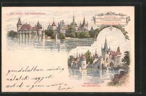 AK Budapest, Deli oldal, Nyugoti Oldal