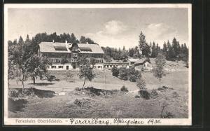 AK Oberbildstein, Blick zum Ferienheim