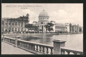 AK Calcutta, General Post Office from Dalhousie Square