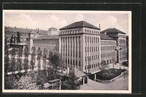 AK Freiberg, Kaserne mit Reichskriegsflagge u.
