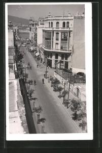 Foto-AK Ceuta, Blick in eine Strasse