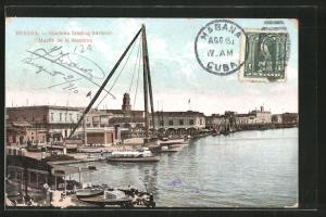 AK Habana, Hafen, Muelle de la Machina