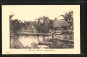AK Adjacin / Dahomey, Habitation Lacustre