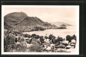 AK Guadeloupe-Saintes, Le fond de Curé