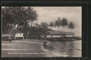 AK Ceylon, Mount Lavinia Hotel, showing the Bathing Pavilion