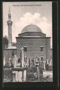 AK Moschee mit türkischem Friedhof