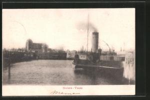 AK Sluizen-Veere, Hafenmotiv