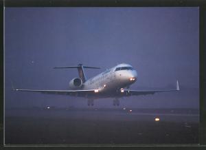 AK Fluggesellschaft Lufthansa, Flugzeug Canadair Jet