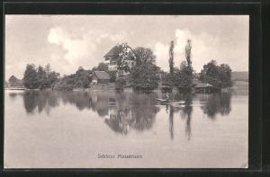 AK Mauensee, Blick auf Schloss Mauensee