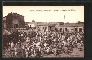 AK Dakar, Marché de Médina, Cinema Sandaga