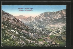 AK Lovien, einzelnes Haus in den Bergen