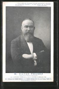 AK Victor Pougez, Directeur-General-Fondateur de l`Avenir Familial