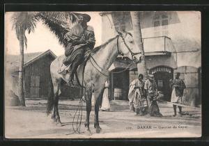 AK Dakar, Guerrier du Cayor, Afrikanischer Reiter