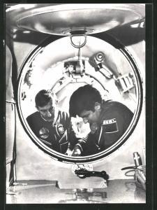 AK Kosmonaut Miroslaw Hermnszewski in der Sojuz-30